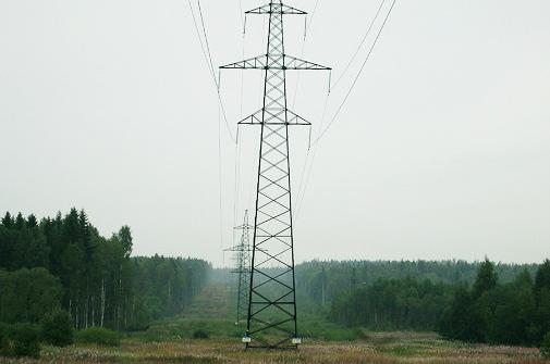 ФСК ЕЭС расчистила на Северо-Западе 6,7 тыс. гектар просек линий электропередачи от угрожающих падением деревьев