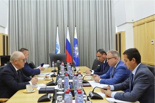 Состоялась рабочая встреча руководителей ФСК ЕЭС и Росэнергоатома