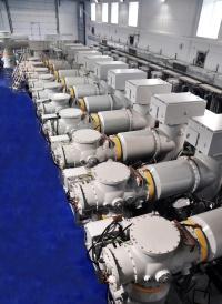 ...напряжение комплектное распределительное элегазовое устройство (КРУЭ) 110 кВ на подстанции 220 кВ Псоу в...