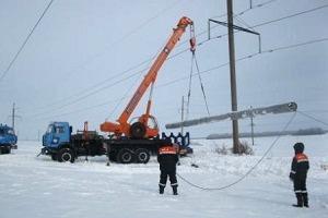 ФСК ЕЭС устанавливает новые секционированные опоры на линиях электропередачи 500 кВ
