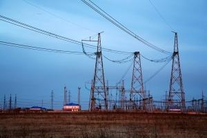 """14:19, 14 Сентября 11.  Электроэнергетическая.   """"ФСК ЕЭС """" укрепила опоры ЛЭП 500 кВ Саяно-Шушенская ГЭС..."""