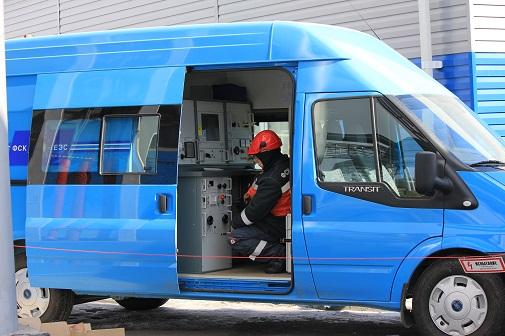 Мобильная лаборатория пополнила парк спецтехники ФСК ЕЭС на юге Сибири