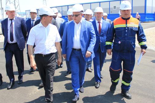ФСК ЕЭС завершила строительство новой подстанции 220 кВ «Ново-Лабинская» в Краснодарском крае