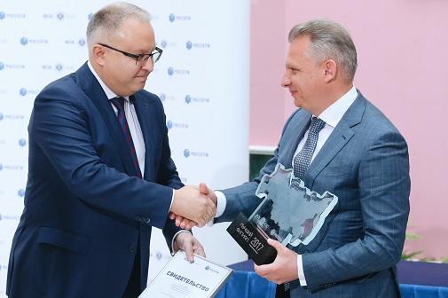Андрей Муров в День компании вручил награды специалистам ФСК ЕЭС