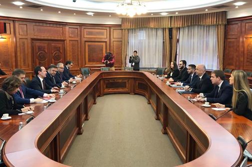 А. Муров принял участие в обсуждении энергетического сотрудничества с Сербией