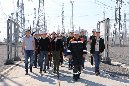 ФСК ЕЭС организовала практику для 175 студентов энергетических вузов Сибири