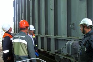 ФСК ЕЭС устанавливает новый автотрансформатор на одной из крупнейших подстанций Волгоградской области