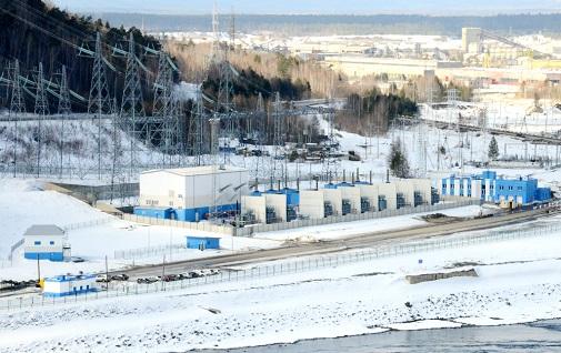 Открытый пункт перехода 500 кВ Богучанской ГЭС. Русгидро