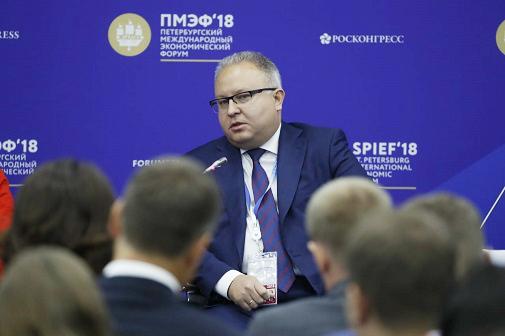 Андрей Муров на ПМЭФ-2018 рассказал о партнерстве ФСК ЕЭС с участниками телекоммуникационного рынка