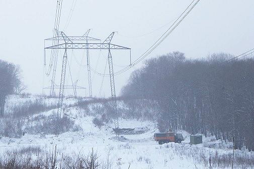 ФСК ЕЭС установила новые фундаменты опор на линии электропередачи в Приморском крае