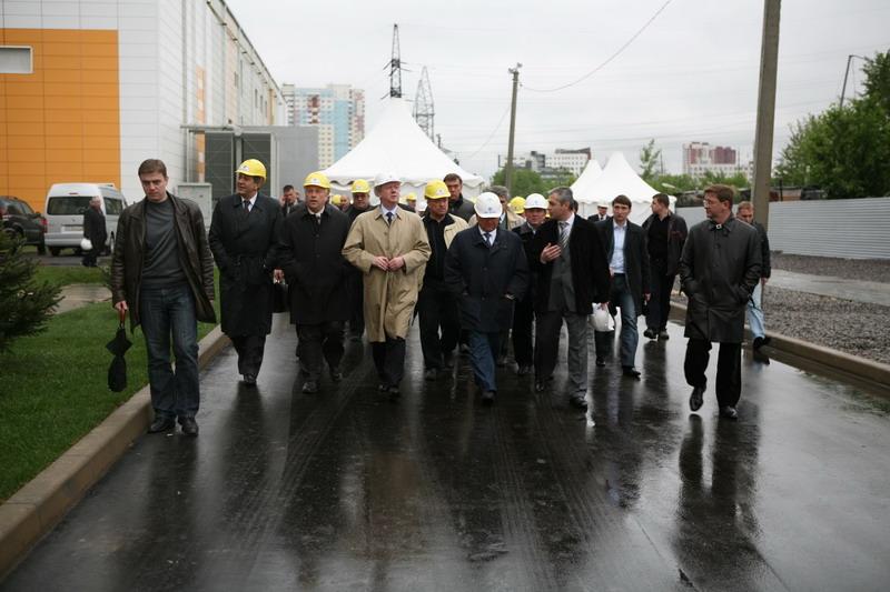 Завершен первый этап реконструкции подстанции 500 кВ Бескудниково.