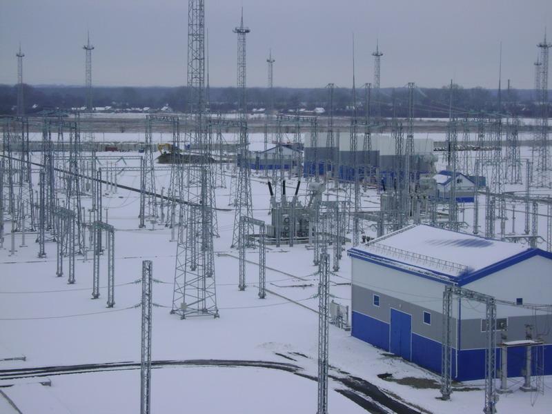 Закрытое распределительное устройство 10 кВ (Декабрь 2009 года) .